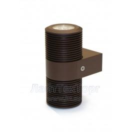 Светильник фасадный светодиодный двулучевой EM2-38 FIX