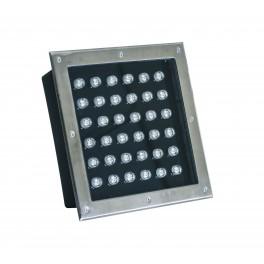 Встраиваемый светодиодный грунтовый светильник BR-S36 WW60