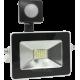 Светодиодный прожектор LPS 10W SMD 6000K с датчиком движения