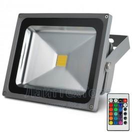 Светодиодный прожектор СДО-2-30 RGB