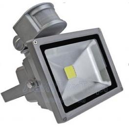 Светодиодный прожектор СДО-50Д COB с датчиком движения