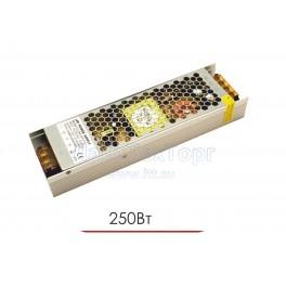 Блок питания для светодиодной ленты  CL 250W 12V IP20 Ultra slim