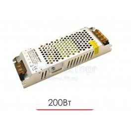 Блок питания для светодиодной ленты  CL 200W 12V IP20 Ultra slim