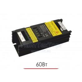 Блок питания для светодиодной ленты  LY 60W 12V IP20 Black (чёрный)