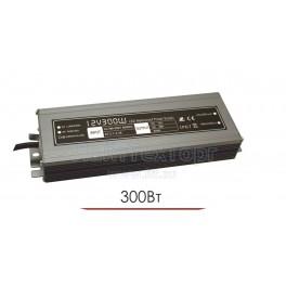 Влагозащищенный блок питания для светодиодной ленты LP 300W 12V IP67 Ultra slim (алюминий)
