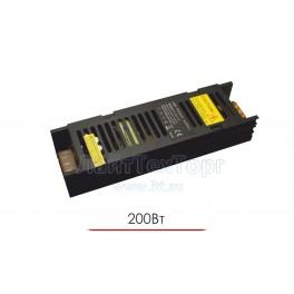 Блок питания для светодиодной ленты  LY 200W 12V IP20 Black ( чёрный )