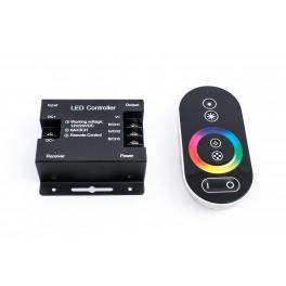 Контроллер для светодиодной ленты TH05 сенсорный ПДУ 18А (черный)