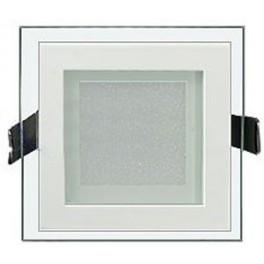 Светодиодная панель LT-S160x160WH 12W (Квадрат стекло)