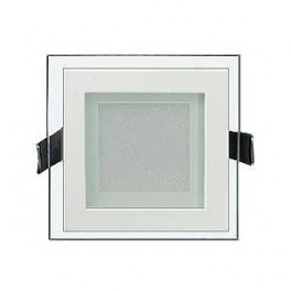 Светодиодная панель LT-S96x96WH 6W (Квадрат стекло)