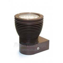 Светильник фасадный светодиодный однолучевой EMS 1-12