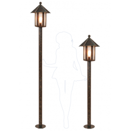 Садово-парковые фонари серии MILAN