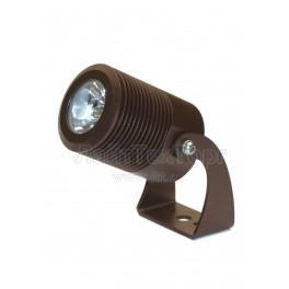 Светильник фасадный светодиодный однолучевой поворотный EM1-20 TURN